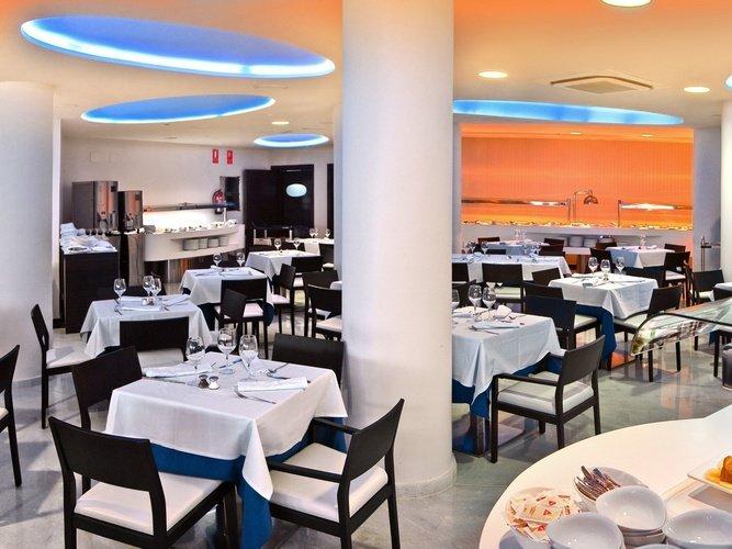Ресторан villa del mar Отель бенидорме