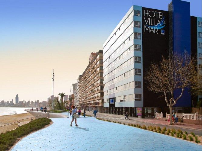 Отель villa del mar villa del mar Отель бенидорме
