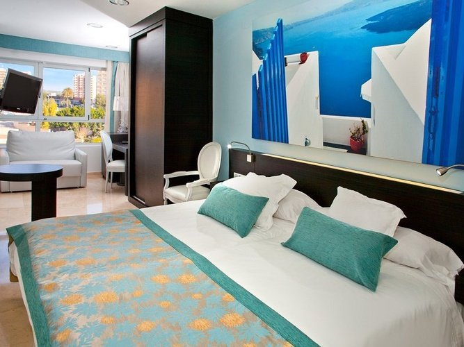 Одноместный номер villa del mar Отель бенидорме