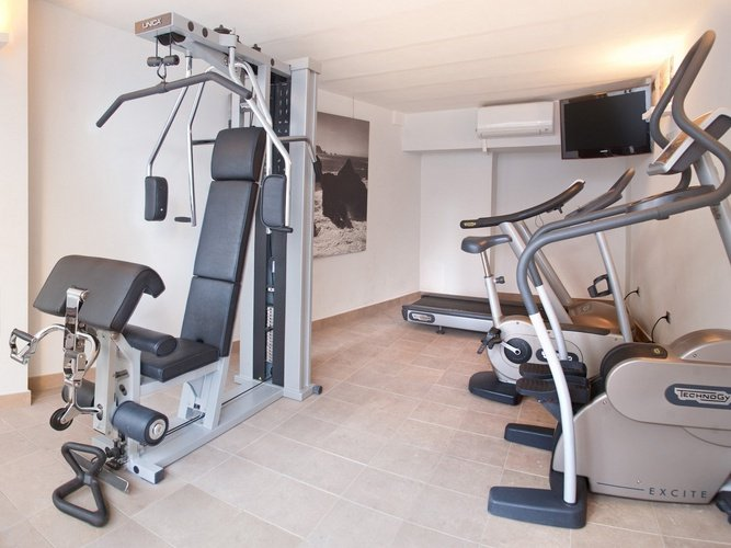 гимнастика villa del mar Отель бенидорме